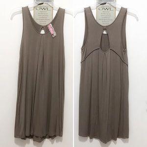 ⚡️SALE⚡️Cinnamon Girl reversible dress (taupe)